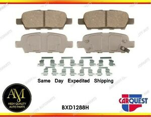 *Disc Brake Pads ceramic BXD1288H Rear fits Nissan / Infinity / Renault 08/11