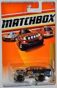 Matchbox 2010 #89 Sahara Survivor 9 silver Desert Endurance #6 MOC R5005