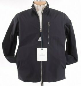 Moncler NWT Windbreaker Jacket Size 2 M In Black Vincin Giubbotto $1,020