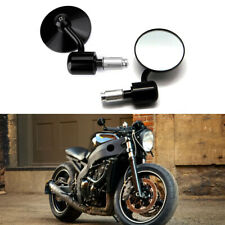 """Motorcycle 7/8"""" Round Handle Bar End Mirrors For Ducati Streetfighter 848 S ST4S"""