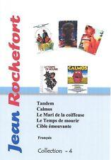 Jean Rochefort  Collection 4. Français.  5 films. NO Subtitles
