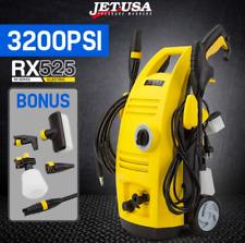 3200PSI High Pressure Electric Washer Vari-Nozzle Brush Detergent bottle Hose