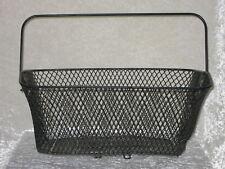 Fahrradkorb - Gepackkorb - Korb für Gepäckträger - Fahrrad, Draht, Schwarz, top