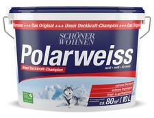 Schöner Wohnen Polarweiss Innenfarbe weiß 10 L NEUWARE AKTION TOP
