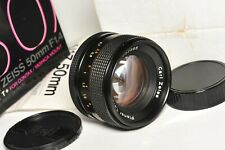 Lens Carl Zeiss  50mm F1.4 T* PLANAR Contax / Yashica mount NEEDS SERVICE