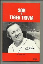 Son of Tiger Trivia by Ernie Harwell 1980 Paperback