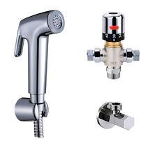 Bathroom Thermostatic Mixer Valve Hand Held shower bidet sprayer Douche Kits