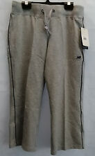 Women's New Balance WEP0366 Essential Capri Pant Size Small Grey/Navy #W366