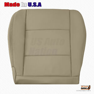 For 2004 2005 2006 2007 Toyota Land Cruiser Driver Bottom Leather Seat Cover Tan