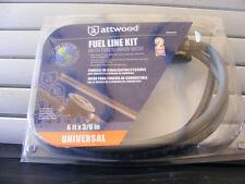 Attwood Universal Fuel Line Kit w/ Demand Valve – 6'