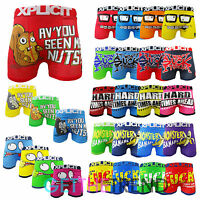 Mens Boxer Shorts Xplicit Funny Rude Novelty Cartoon Printed Underwears Trunks