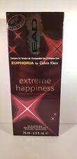 Extreme Happiness Women's Perfume like Euphoria by Calvin Klein 2.5 oz ea.