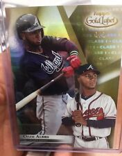 2018/19 Topps Gold Label Ozzie Albies Class 1 Gold Rookie #1/1 Braves True 1/1