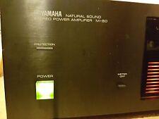 Yamaha M-50 2 Channel Amplifier