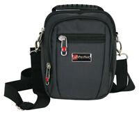 Herren Tasche Schultertasche klein-Umhängetasche Handtasche-Gürteltasche mit LED
