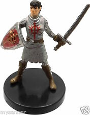 D&D Mini RECLAMATION SQUIRE Fighter Pathfinder COF Dungeons & Dragons Miniature