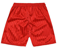 Kids Football Gym Shorts Boys Girls New Shadow Stripe Back To School 3-14 Years