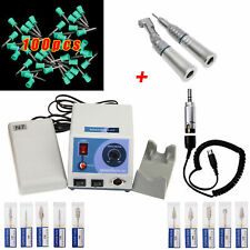 Dental Marathon 35K electric micromotor N7+Low Speed manipolo Burs Polish Cups