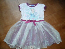 BNWT DISNEY GIRL'S STUNNING 'FROZEN' ELSA  PARTY DRESS WITH 3 LAYERED SKIRT 2Y