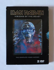 IRON MAIDEN - VISIONS OF THE BEAST 2003 2 DVD SET IN CARDBOARD CASE - V.G.C.