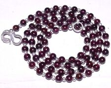 (eVB1046) Garnet Natural Gemstone Beautiful  Beads Necklace