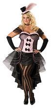Burlesque Babe Adult Plus Womens Costume Cascade Dress Hat Gloves Halloween Xxl