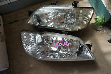 JDM 01-03 Mitsubishi OEM Cedia Lancer GDI CS5A CS5W Headlights Headlamps