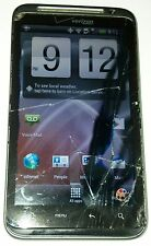 HTC Thunderbolt 4G LTE 8GB Black Verizon Smartphone Cracked Glass Bad LCD AS IS