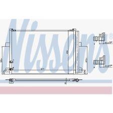 Nissens Kondensator, Klimaanlage VW Amarok 940225