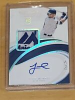 2019 Immaculate ONE OF ONE Jeff McNeil Autograph RC Auto True RPA 1/1 SICK PATCH