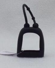1 Bath & Body Works SOLID BLACK Rubber Pocketbac Sanitizer Gel Case Holder