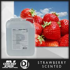 Premium Fog Fluid, 1 Litre with Strawberry SCENT, Smoke Machine scented fog
