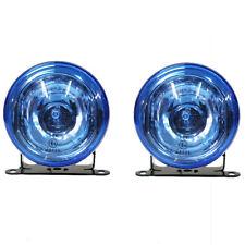 2x Front Fog Spot Lights Blue Lamps E-Marked For VW Volkswagen Golf Passat Polo