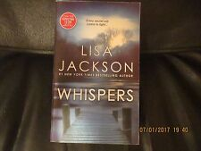 Whispers by Lisa Jackson Mass Market Paperback Book (English)