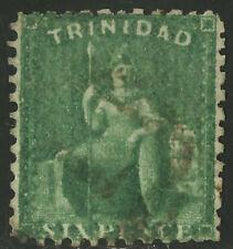 Trinidad   1863   Scott # 41  USED Perf 11.75