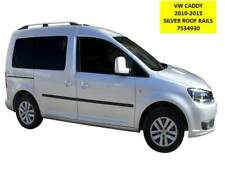 VW CADDY 2010 + ELEGANCE STYLE SILVER ROOF RAILS BARS - 7534930