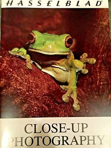 HASSELBLAD 'CLOSE-UP PHOTOGRAPHY' INSTRUCTION BOOKLET- VINTAGE
