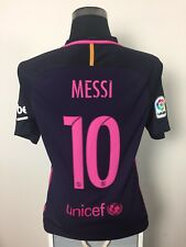 MESSI #10 Barcelona Away Football Shirt Jersey 2016/17 (M)