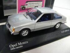 1/43 Minichamps Opel Monza 1980 silbermetallic