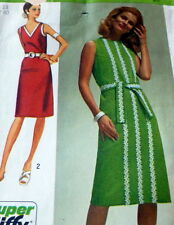 *LOVELY VTG 1970s DRESS Sewing Pattern 18/40