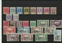 sierra leone mounted mint and used  stamps ref r12466