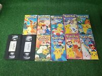 Pokemon VHS Lot of 11 (VHS TAPES)