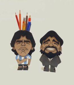 Set of Maradona Pencil Cup - Player and Coach Version