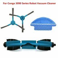 Para Conga 3090 Serie Robot Aspirador Cepillo de Rodillo Lateral Recambios Kits