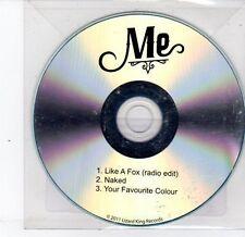 (DS387) Me, Like A Fox / Naked - 2011 DJ CD