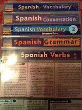 Barcharts Lot Of 5 Spanish Titles Quick Study Guide