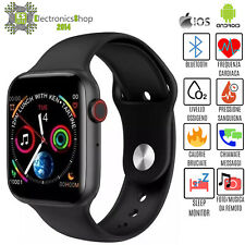 Smartwatch Bluetooth Pression Sanguine Fréquence Cardiaque Fitness Ios Android