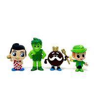 Funko Mystery Minis Ad Icons Lot Big Boy Jolly Green King Ding Dong Lucky Figure