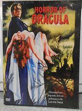 Horror of Dracula (DVD, 2002)  NEW RARE 1958 CLASSIC HORROR BRAND NEW