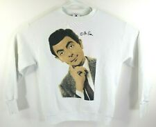 Vintage Mister Bean Crewneck Sweater Sz M Made In USA